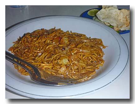 ミー・アチェ アチェ風麺