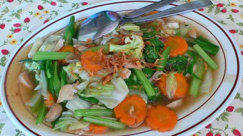 チャプチャイゴレン 野菜炒め