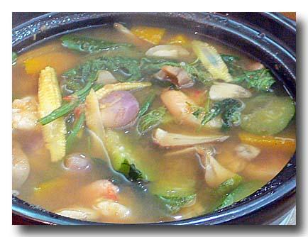 ゲーン・リアン 具だくさんスパイシー野菜スープ