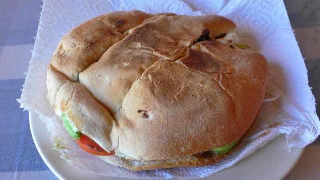 トルタス メキシコ風サンドイッチ