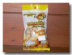 カノム・ピン ココナッツミルクぼうろの袋