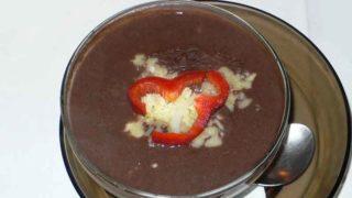 ソパ・デ・フリホレス sopa de frijoles [黒豆のスープ]