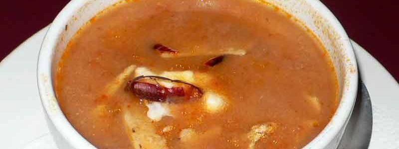 ソパ・デ・トルティーヤ sopa de tortilla / azteca [トルティーヤスープ]