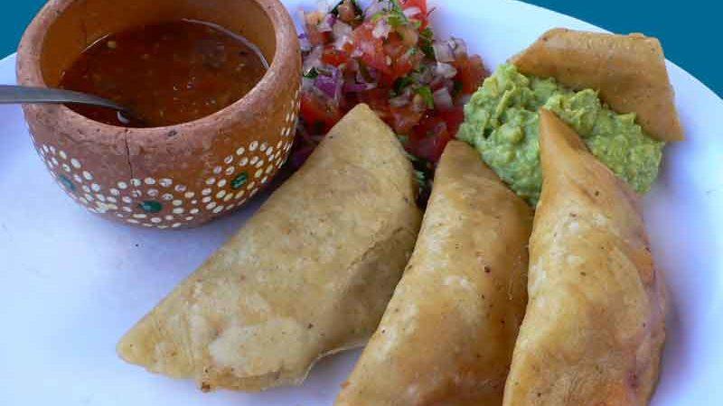 エンパナダス empanadas [メキシコ風揚げパン]