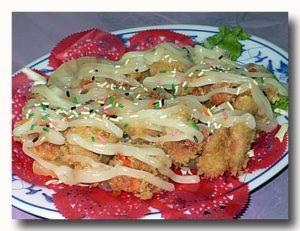 富貴蝦球 エビフライのマヨネーズソース