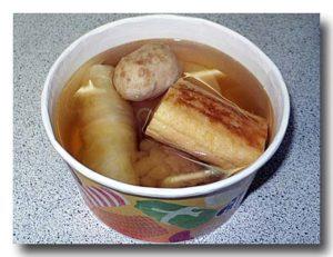 台湾のセブンイレブンのおでん 関東煮