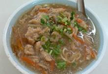 肉[火庚] /肉羹 rou geng [肉団子入りとろみスープ]