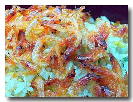 桜花蝦炒飯 さくらえび炒飯