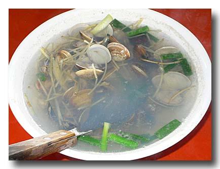 蛤蜊湯 ハマグリのスープ