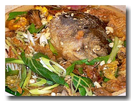 砂鍋鮭魚頭 [鮭の頭鍋]