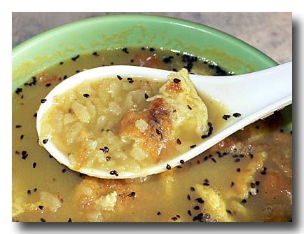 クワティー 豆と干飯のスープ