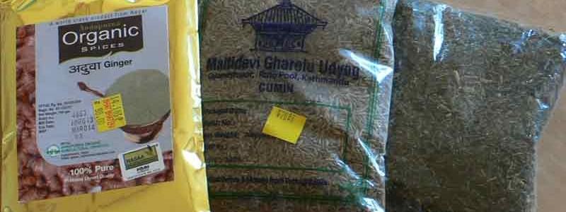 ネパール産 スパイス