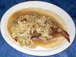 チュニジア料理 ハンニバル 桜鯛のグリル