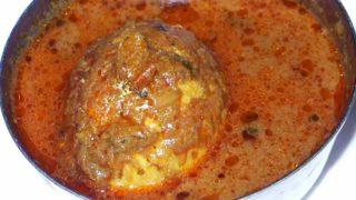エッグマサラ 卵のカレー