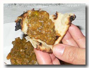 バイガン・カ・バルタ 焼き茄子のミンチの和え物