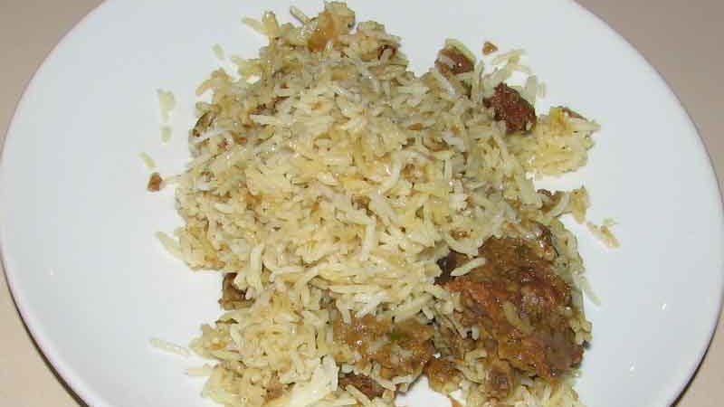 マトンビリヤニ インド風混ぜご飯