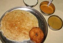 ウッタパム 南インドの豆粉のお好み焼き