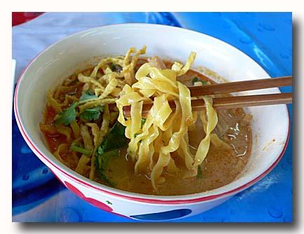 カオソーイ タイ風カレーラーメン