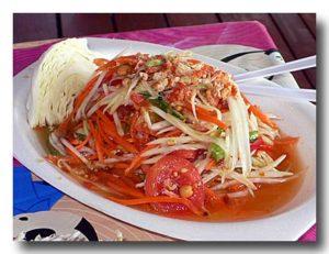 ソムタム・タイ 青パパイヤのサラダ