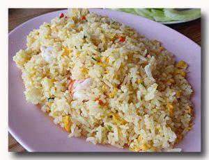 カオパットクン タイ風蟹炒飯