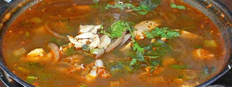 ヤムジンガイ 北タイ風とりスープ