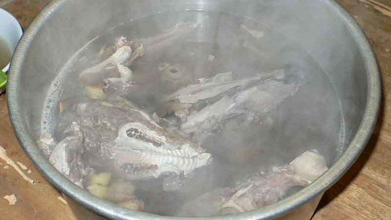 山羌湯 [キョンのスープ]
