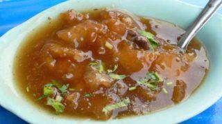カポップラー・ナムデーン 魚の浮き袋のあんかけスープ