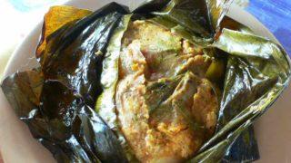 タマレス・コラドス トウモロコシの蒸し物