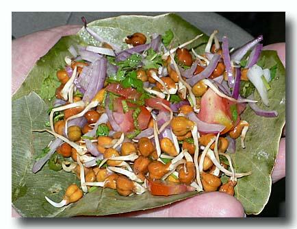 ダール・ケ・アンクール 豆もやしのサラダ 発芽豆のサラダ