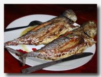 イカン・バカール 焼き魚