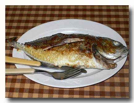 イカン・バカール ikan bakar 焼き魚