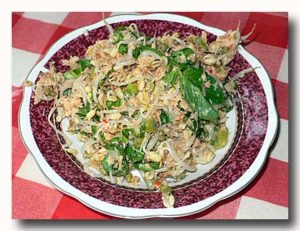 コフ・コフ kofu-kofu 魚ともやしの和え物