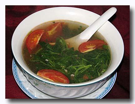 ケーン・ソム・ムー 豚肉入りの酸っぱいスープ