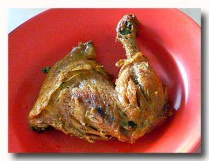 アヤムゴレン インドネシア風鶏の唐揚げ バリ