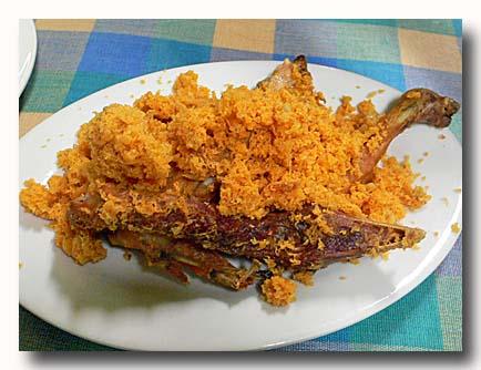 アヤムゴレン インドネシア風鶏の唐揚げ