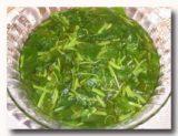 スプ・サユール・ヒジョウ 青菜のスープ
