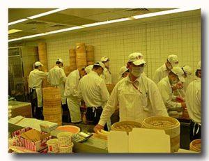 鼎泰豊の小籠包職人