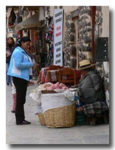 パン売りのおばちゃん