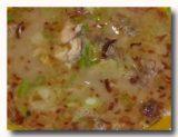 スプ・チョト 牛の内臓のスープ 具材アップ