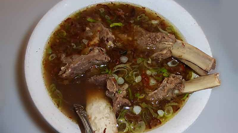 スプ・コンロ 牛スペアリブスープ