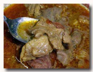 グール・カンビン gule kambing 山羊のカレースープアップ