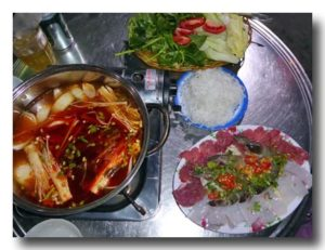 ラウ・タイ 甘辛い鍋
