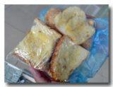 フランスパンで作ったシュガーラスク