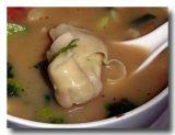 ベジタブル・ぺ・シー 野菜餃子スープ 餃子アップ