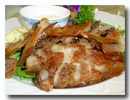 香焼山豚肉 猪のニンニク焼き