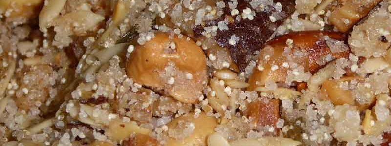 サンドパンジリ ナッツ菓子