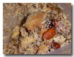 サンド・パンジェリ ジャンムーのナッツ菓子の中身