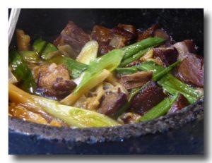 石鍋焼肉 アップ