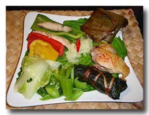 ルカイ族のローカルご飯