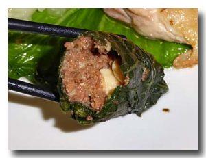 吉拿富 jinafu 粟と豚肉のアバイ
